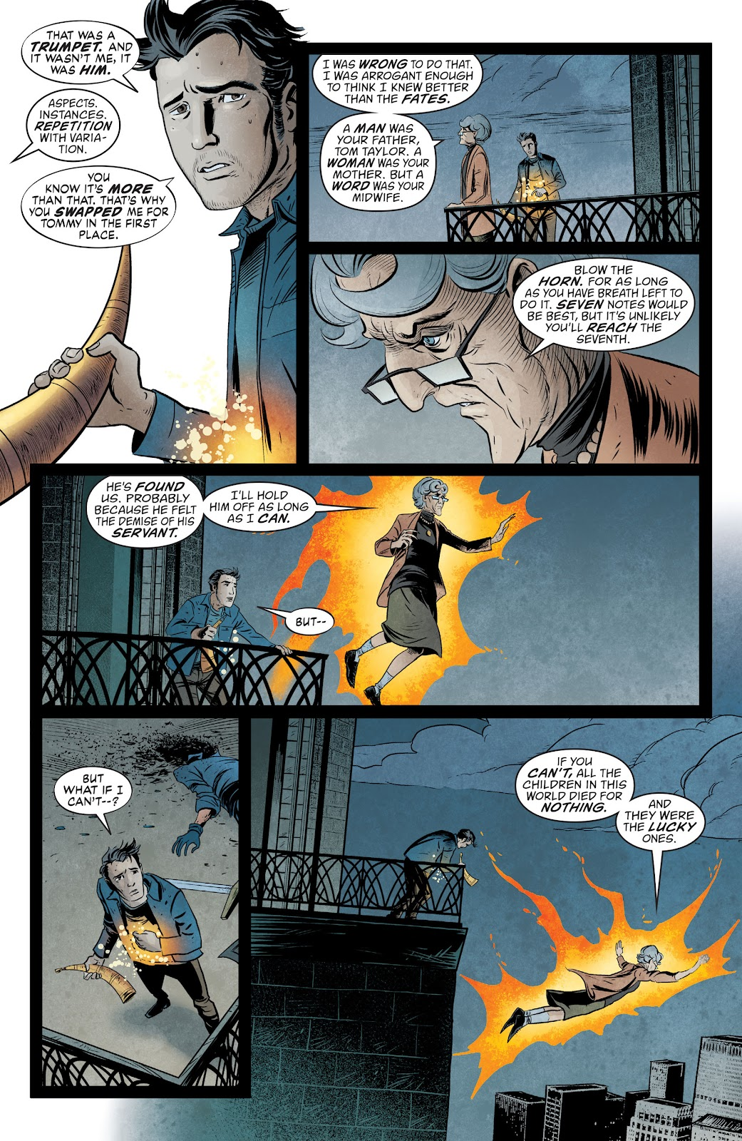 The Unwritten Issue #54 #60 - English 20