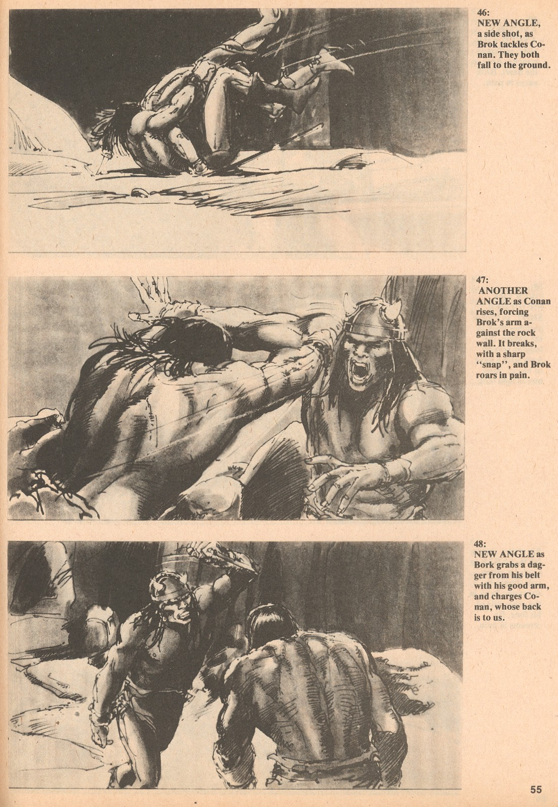 The Savage Sword Of Conan Issue #60 #61 - English 55