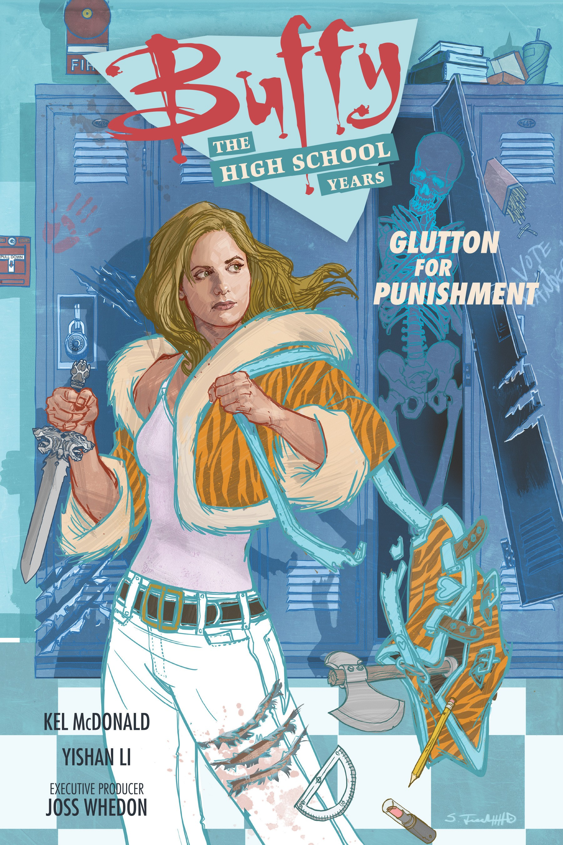 Buffy: The High School Years - Glutton For Punishment Full Page 1