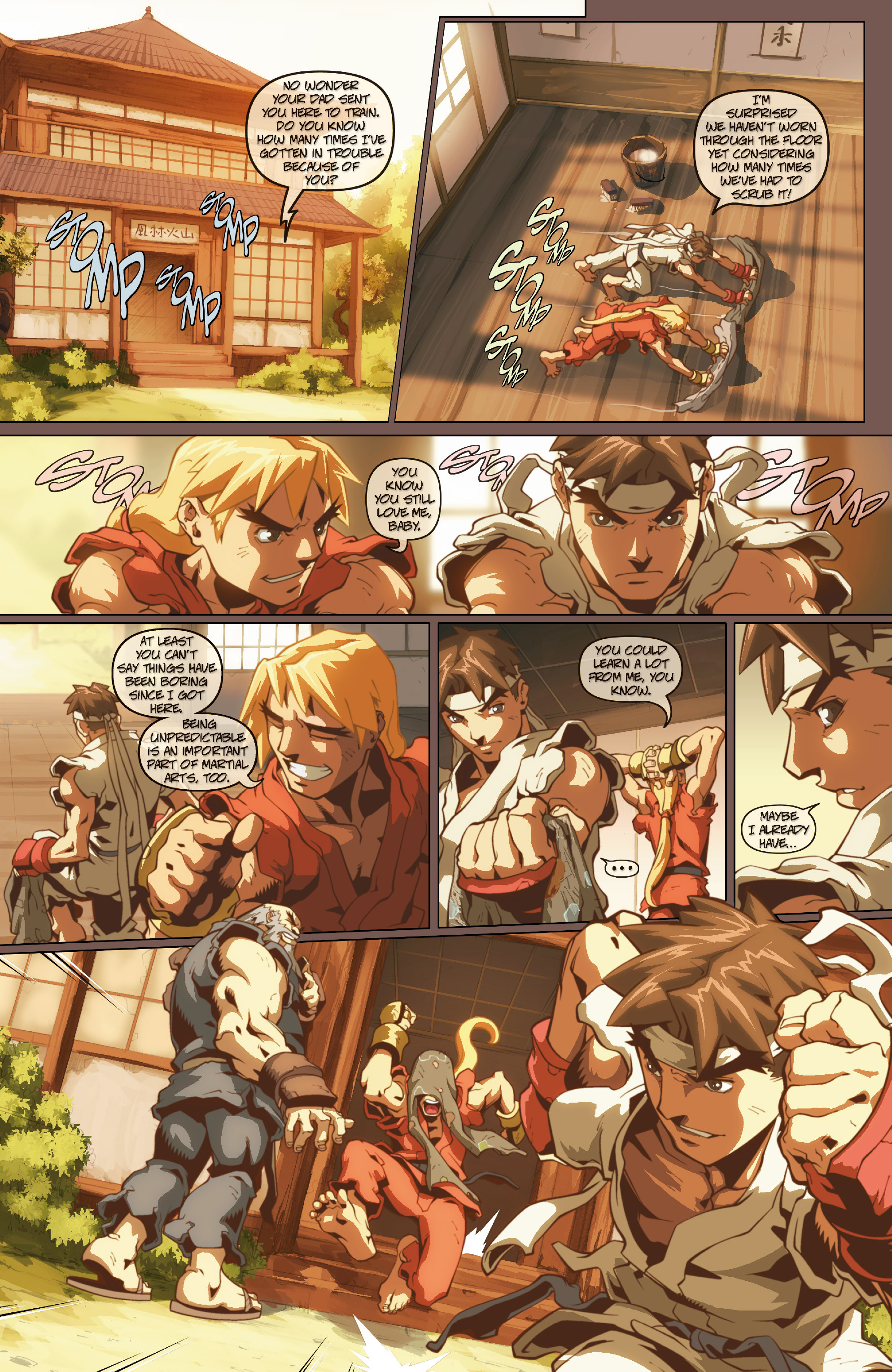 Street Fighter II chap 0 pic 8