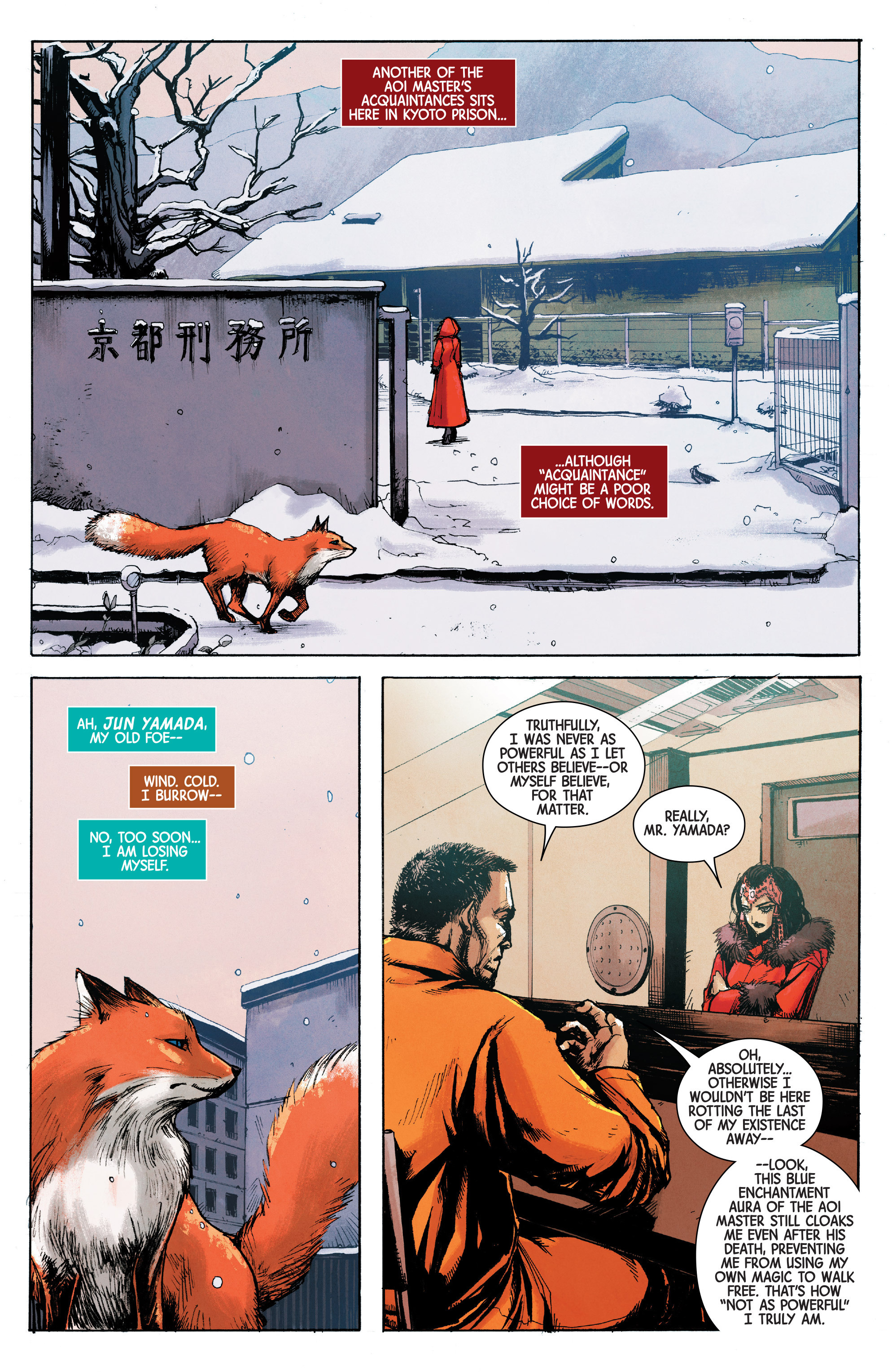 Read online Scarlet Witch (2016) comic -  Issue #10 - 12