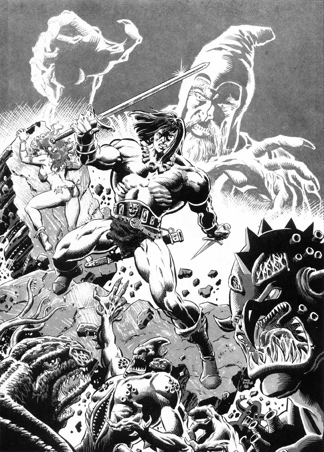 The Savage Sword Of Conan Issue #156 #157 - English 58