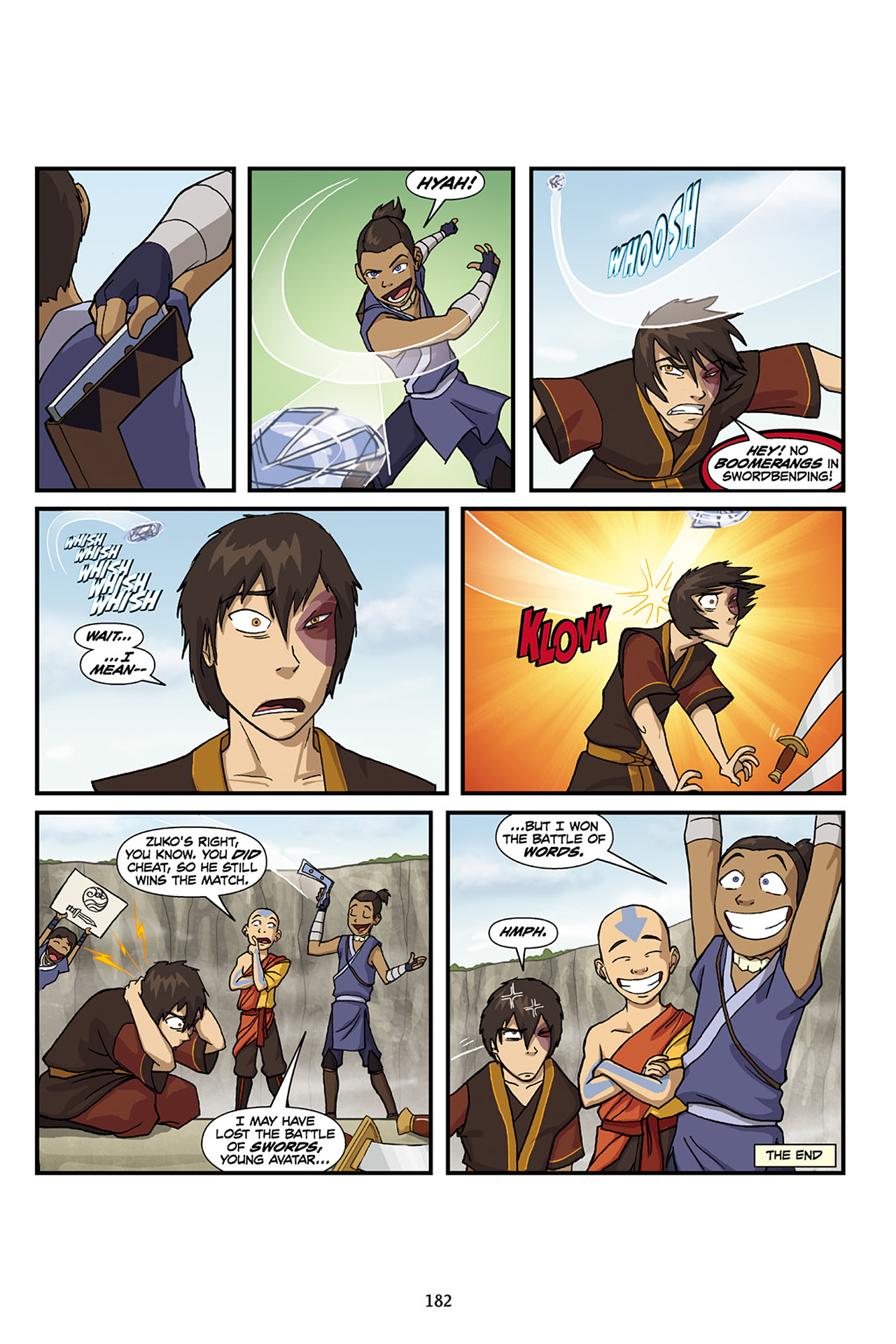 Nickelodeon Avatar: The Last Airbender - The Lost Adventures chap full pic 183