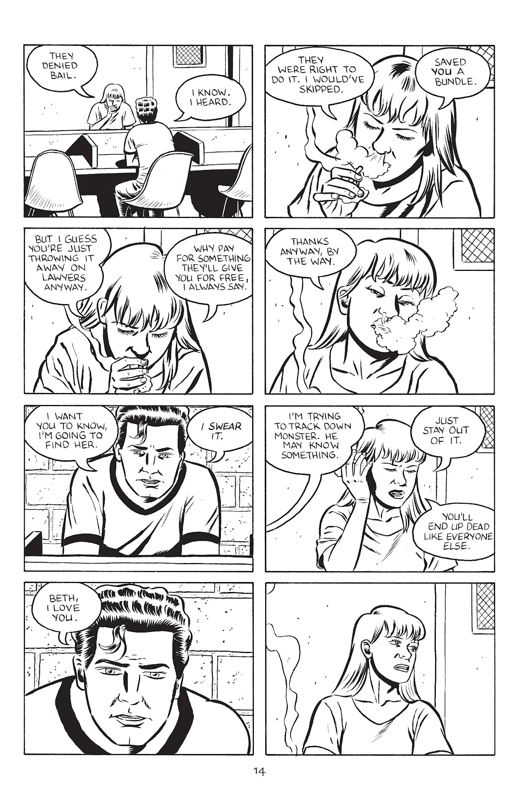 Stray Bullets Issue #28 #28 - English 16