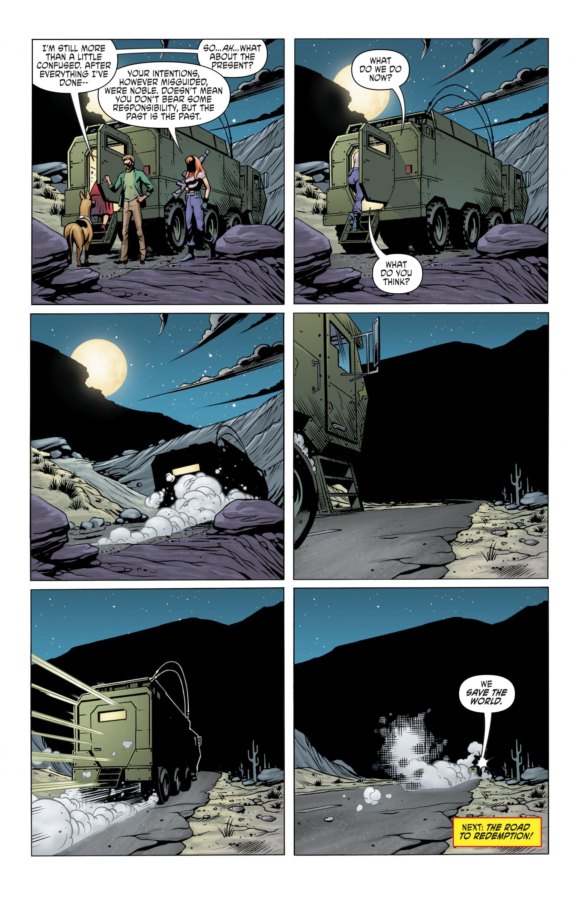 Read online Scooby Apocalypse comic -  Issue #11 - 20