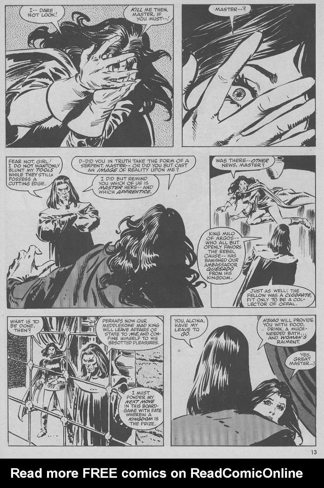 The Savage Sword Of Conan Issue #51 #52 - English 13