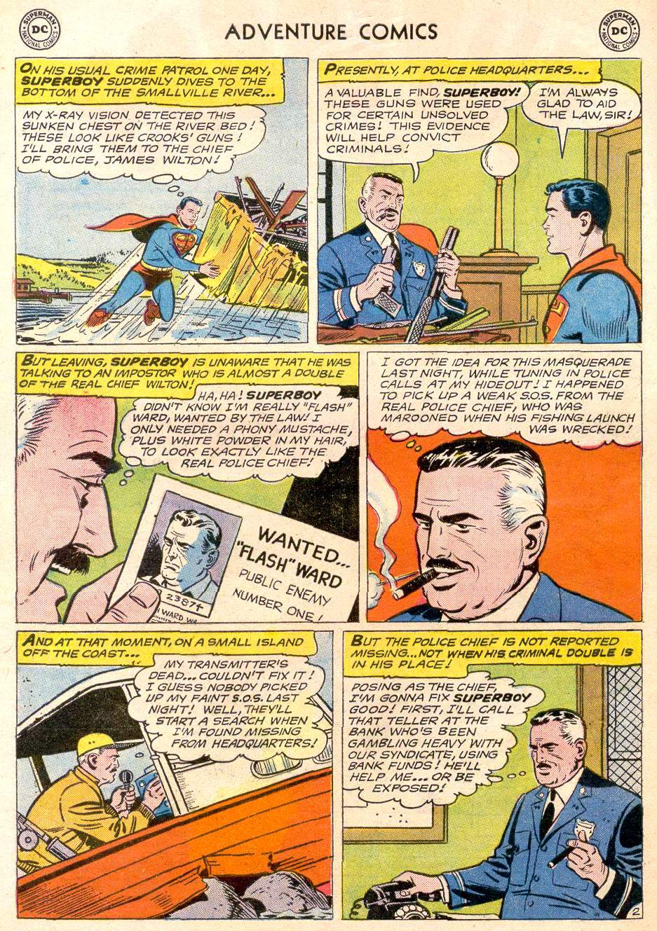 Read online Adventure Comics (1938) comic -  Issue #256 - 4