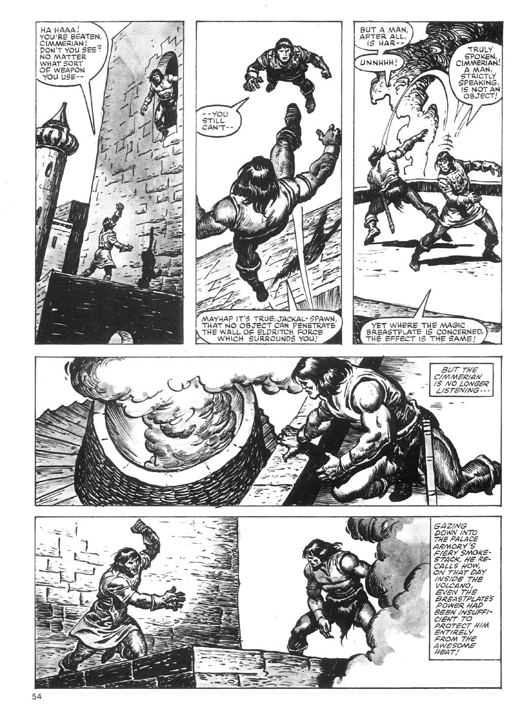 The Savage Sword Of Conan Issue #87 #88 - English 54