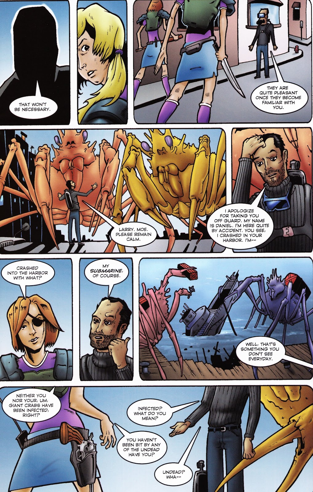 Zombies vs Cheerleaders Issue #2 Page 14