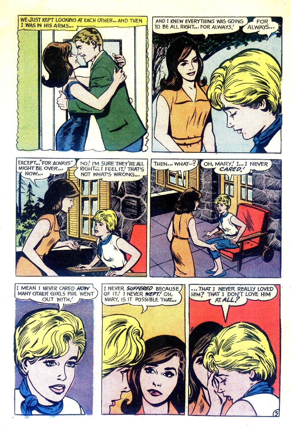 Read online Secret Hearts comic -  Issue #130 - 11
