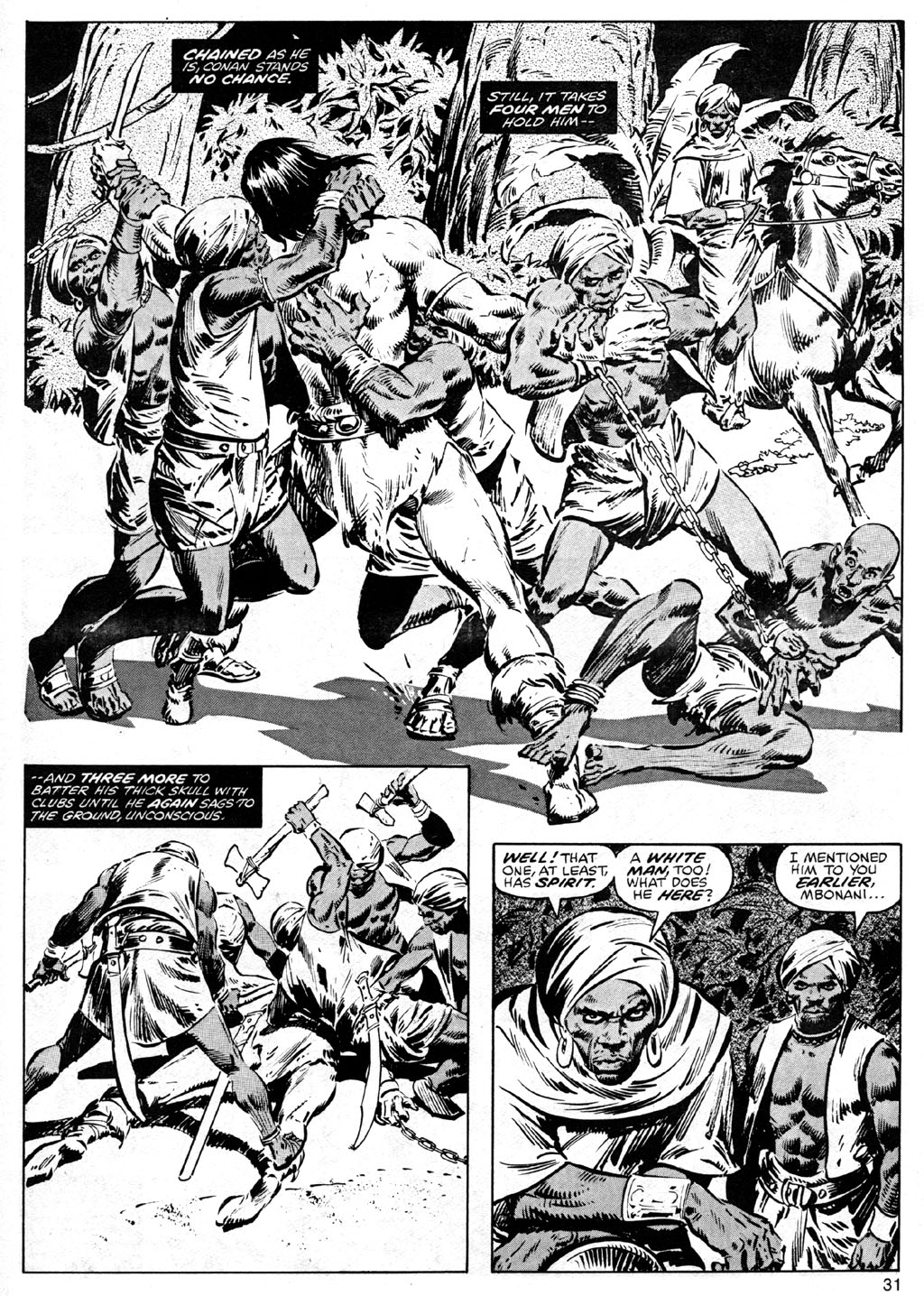 The Savage Sword Of Conan Issue #41 #42 - English 31