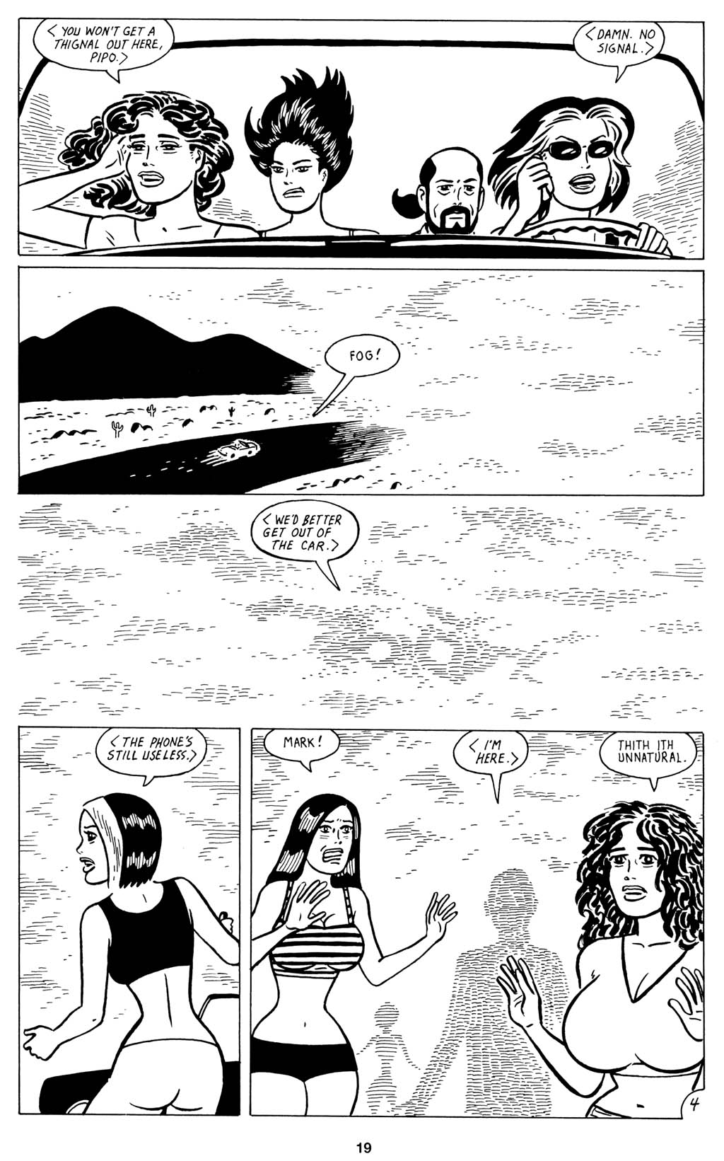 Read online Love and Rockets (2001) comic -  Issue #15 - 21