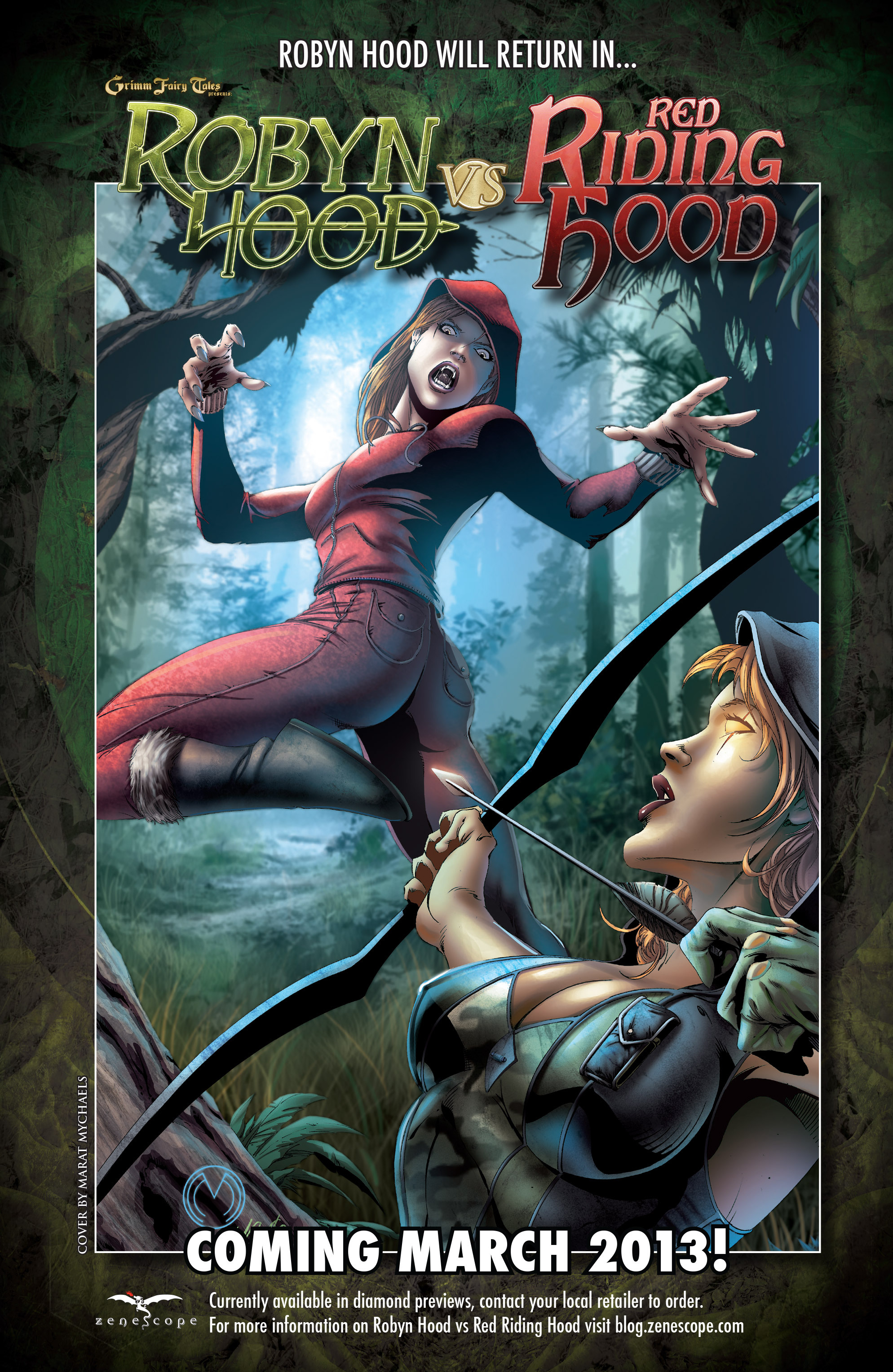 Read online Grimm Fairy Tales presents Robyn Hood (2012) comic -  Issue #5 - 43