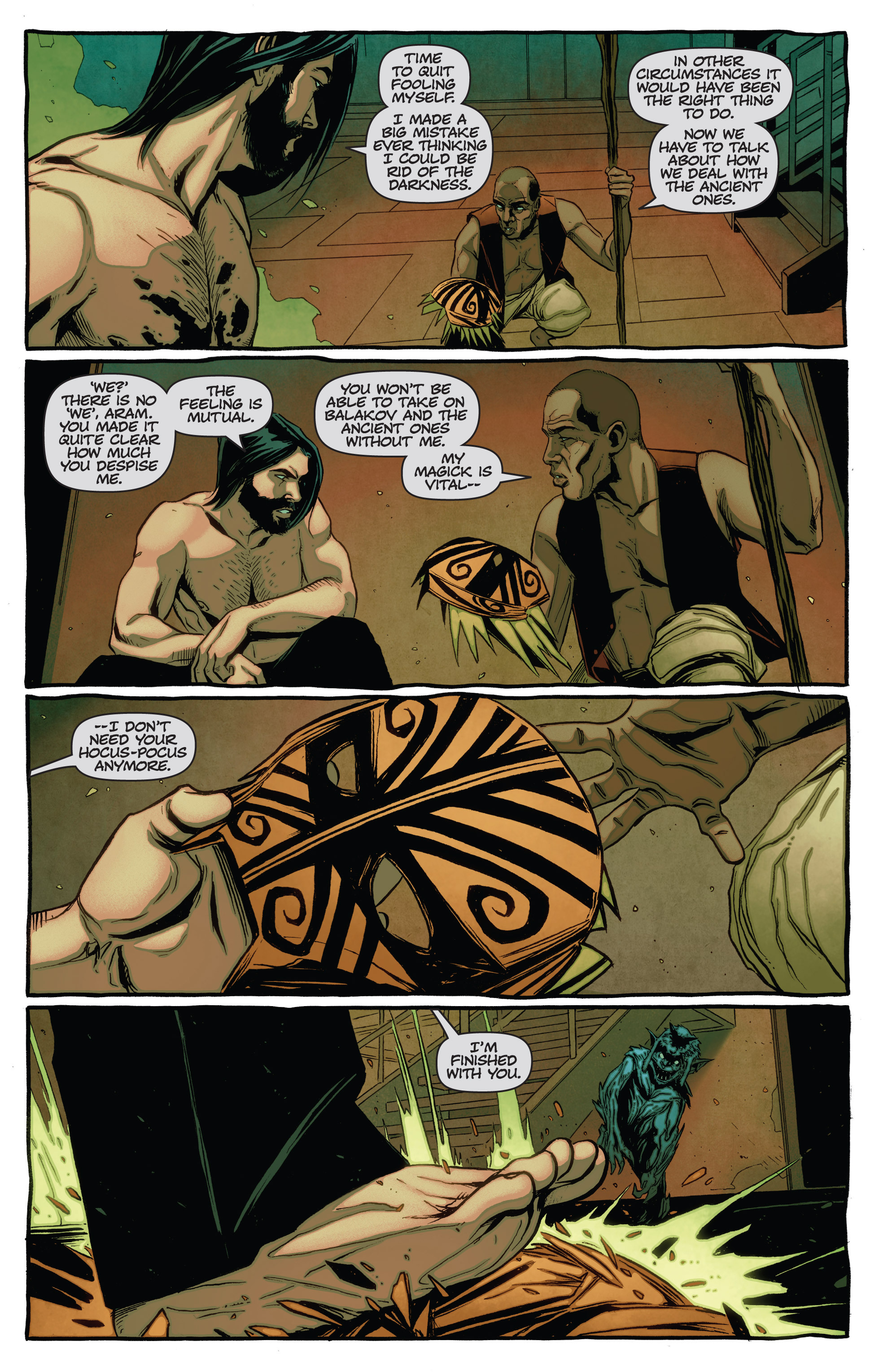 Read online The Darkness (2007) comic -  Issue #115 - 17