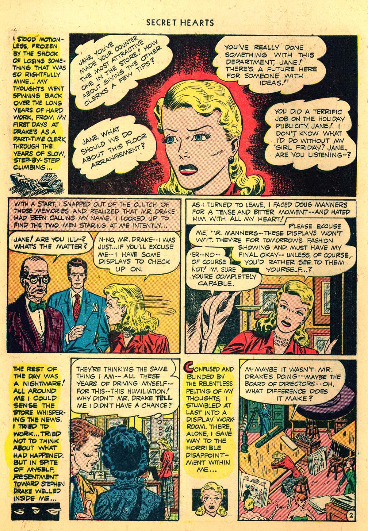 Read online Secret Hearts comic -  Issue #4 - 14