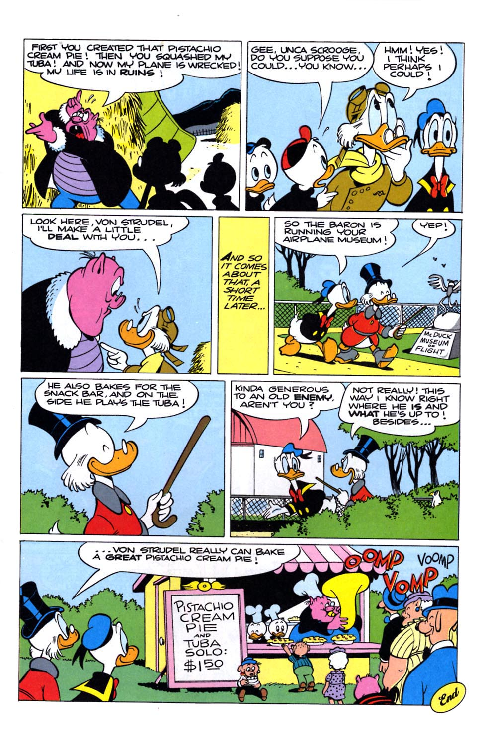 Uncle Scrooge (1953) Issue #243 #243 - English 16