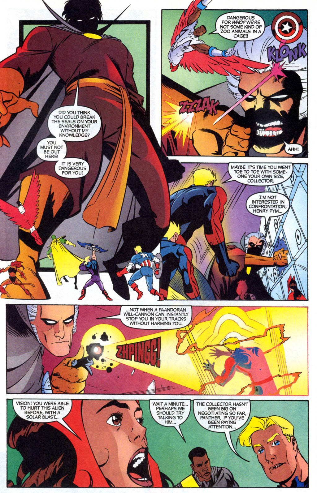 Read online Avengers United They Stand comic -  Issue #7 - 19