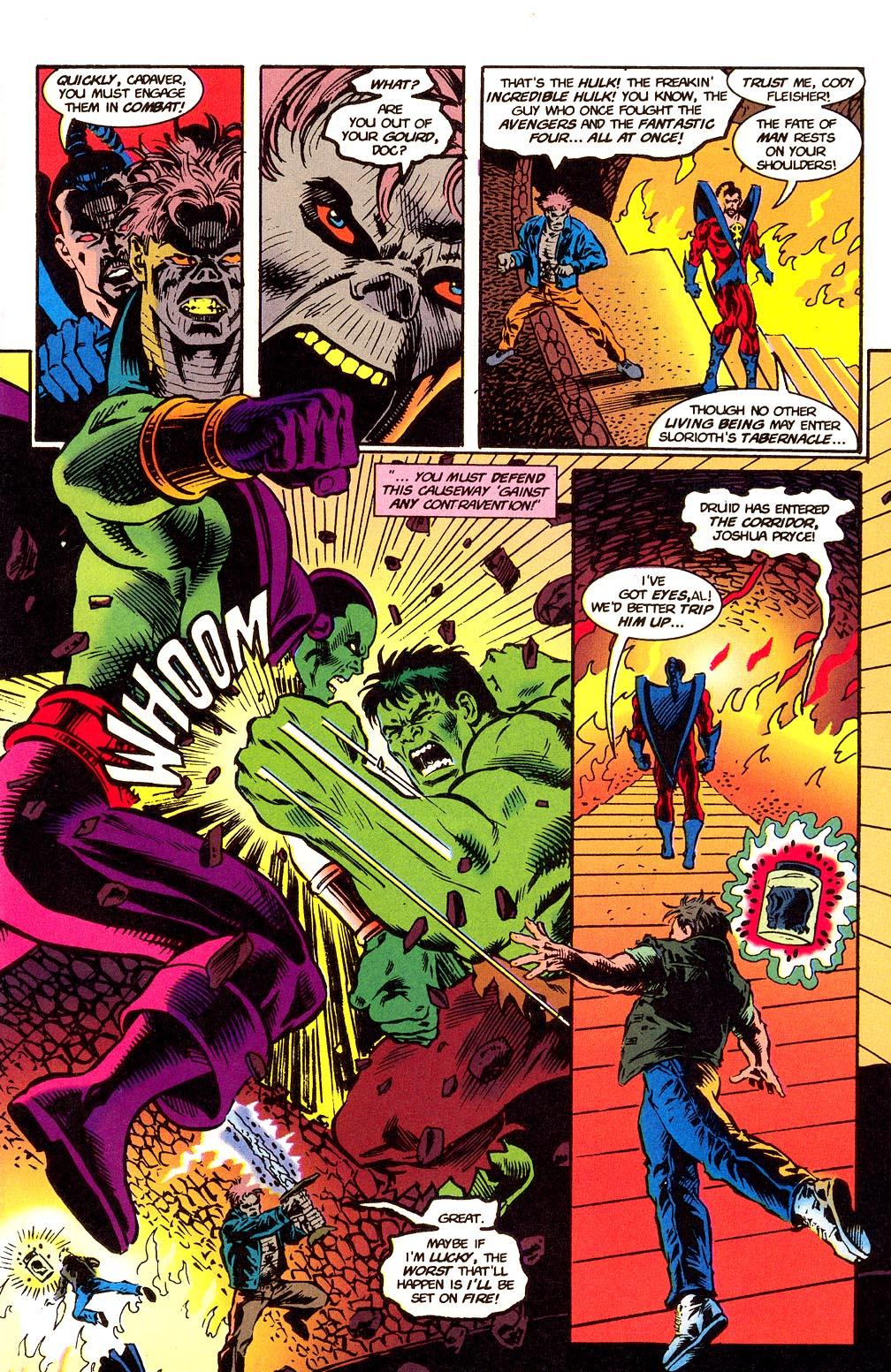Read online Secret Defenders comic -  Issue #24 - 6