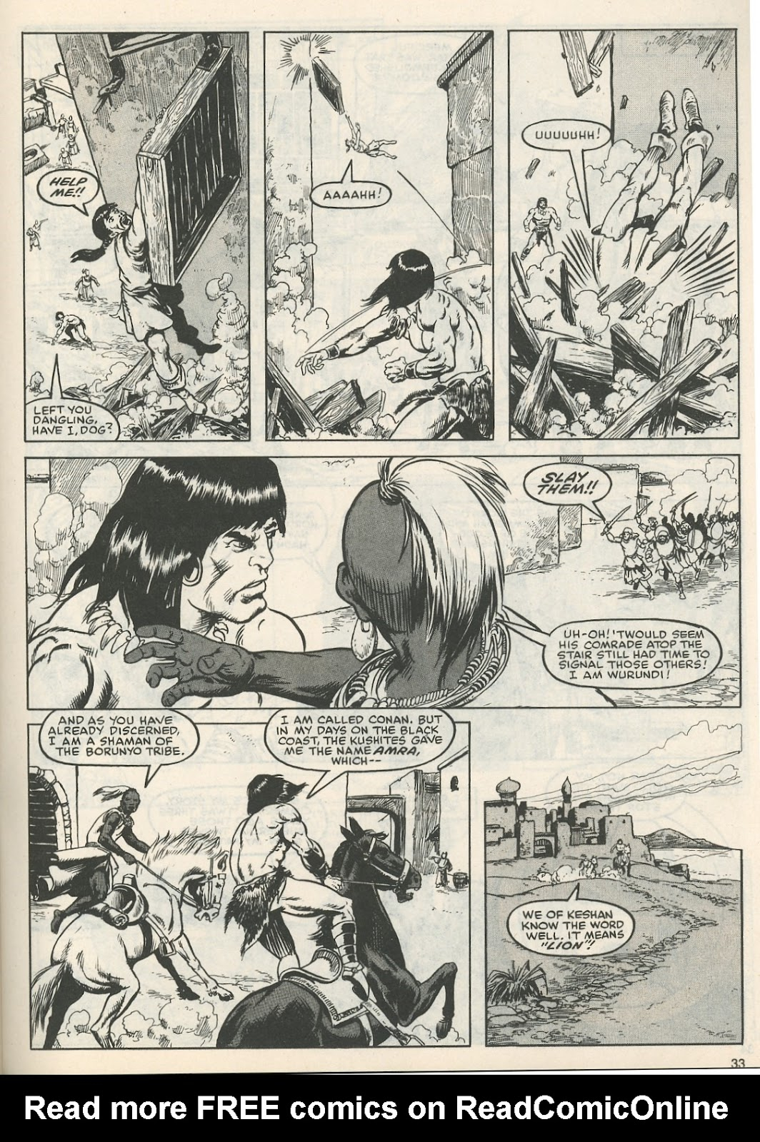 The Savage Sword Of Conan Issue #111 #112 - English 34