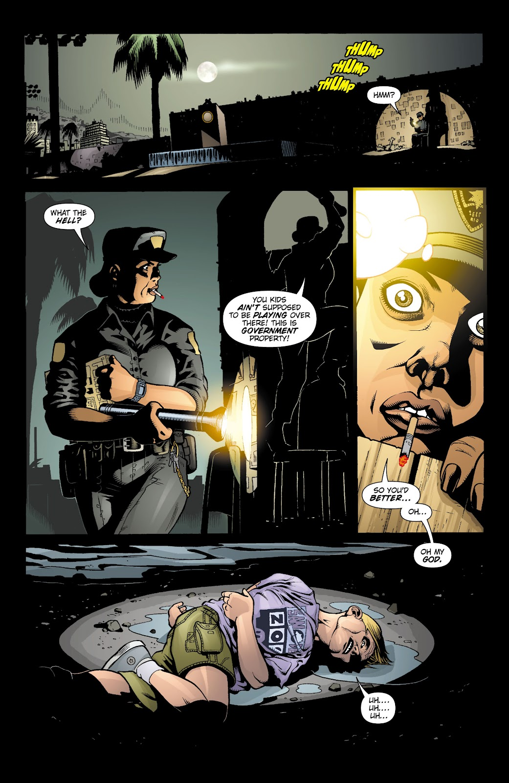 Aquaman (2003) Issue #15 #15 - English 14
