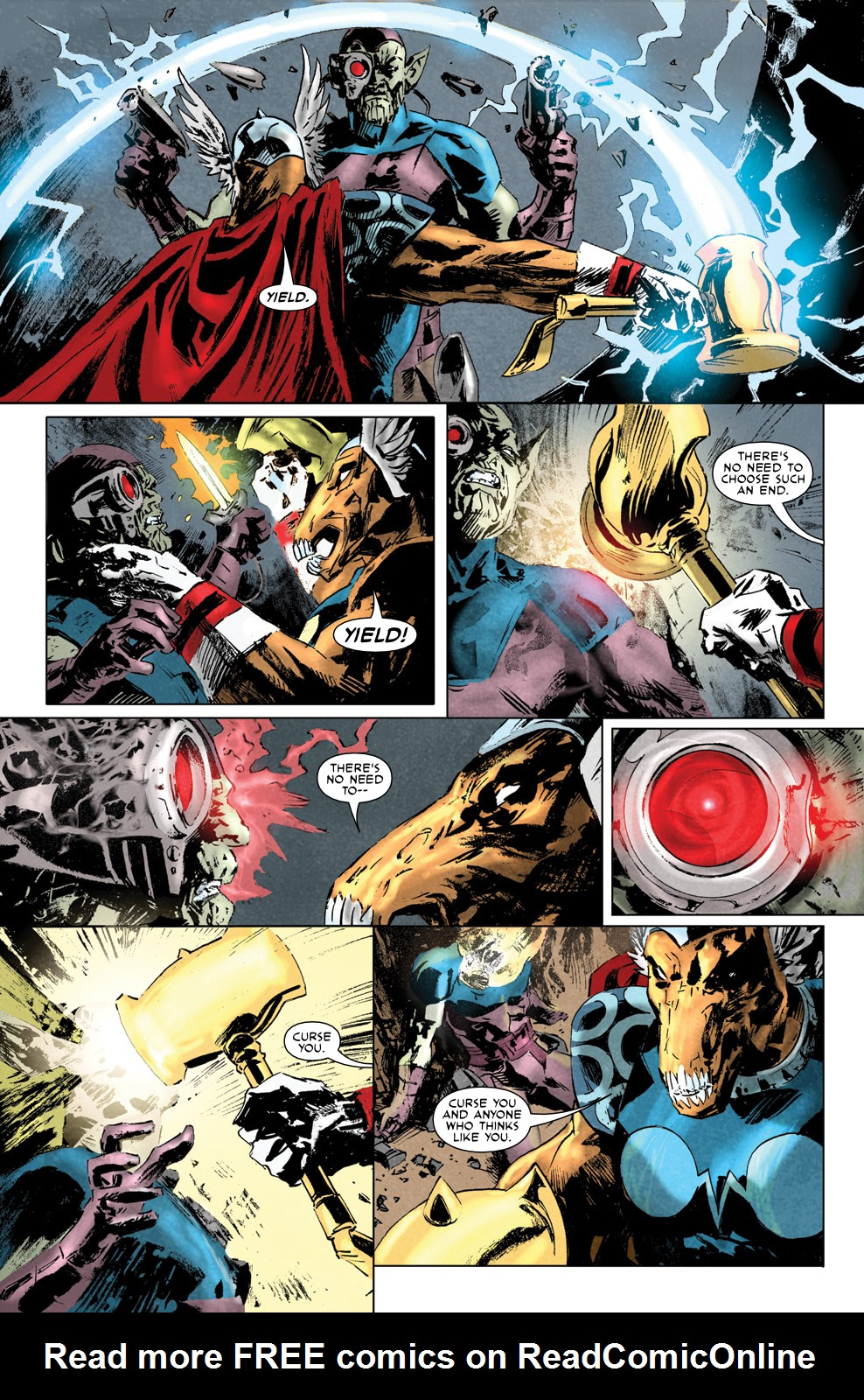 Read online Secret Invasion Aftermath: Beta Ray Bill - The Green of Eden comic -  Issue # Full - 11