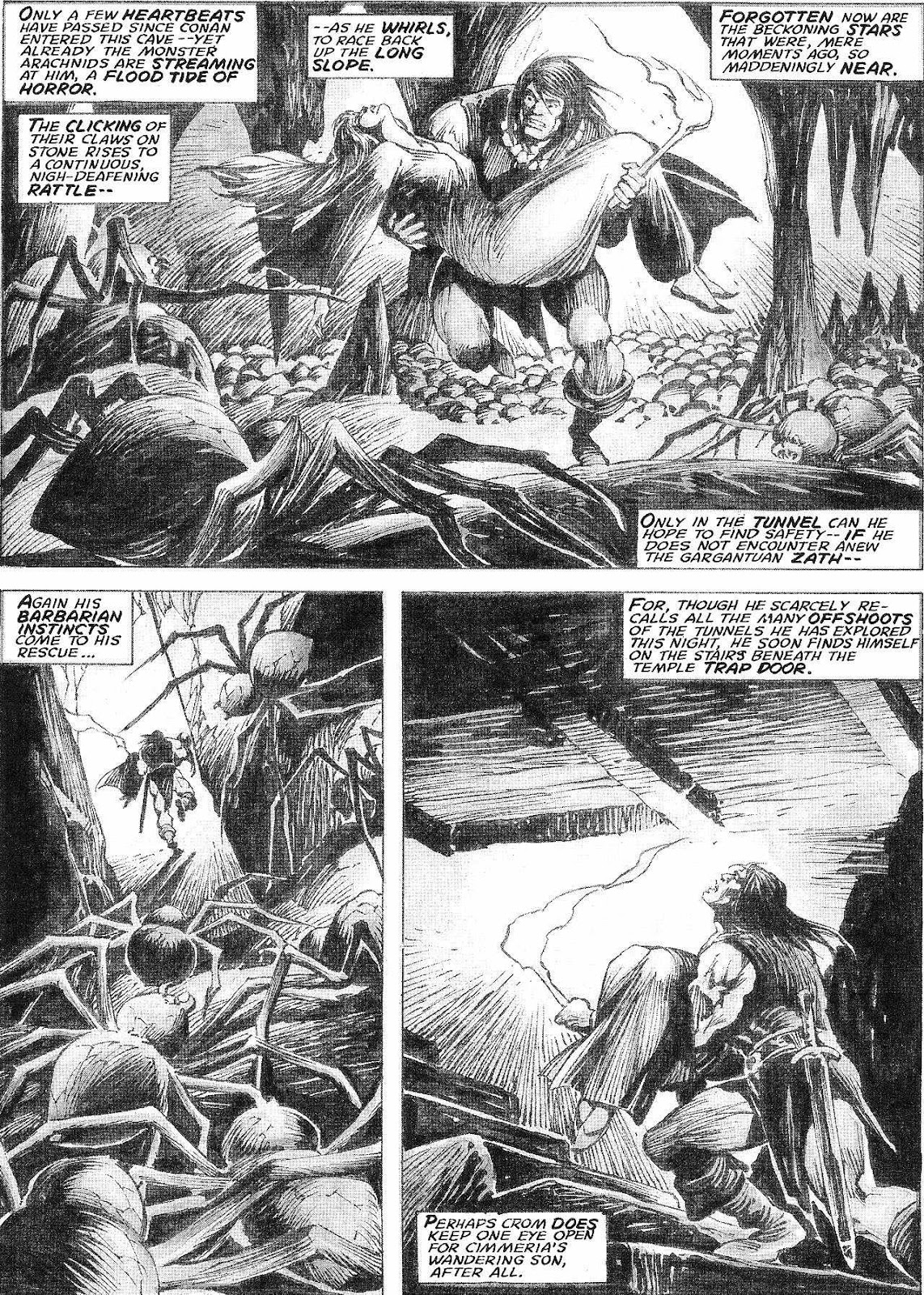 The Savage Sword Of Conan Issue #210 #211 - English 30