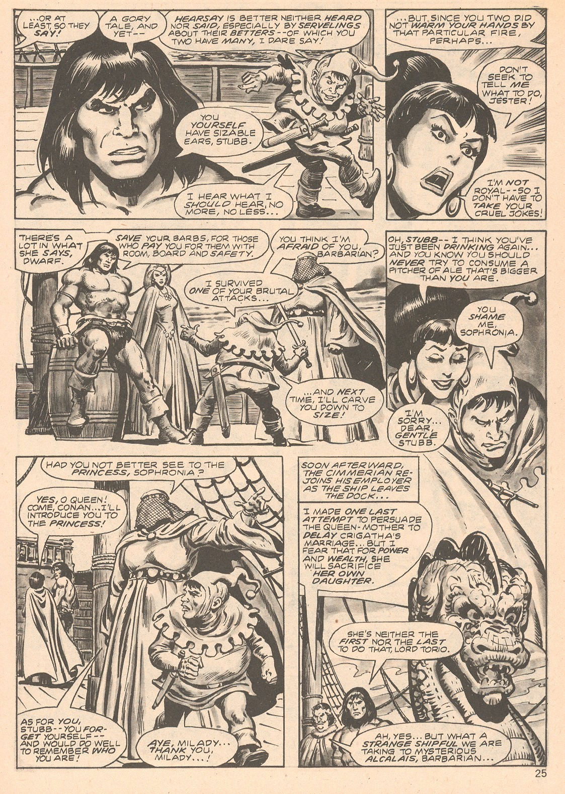 The Savage Sword Of Conan Issue #66 #67 - English 25