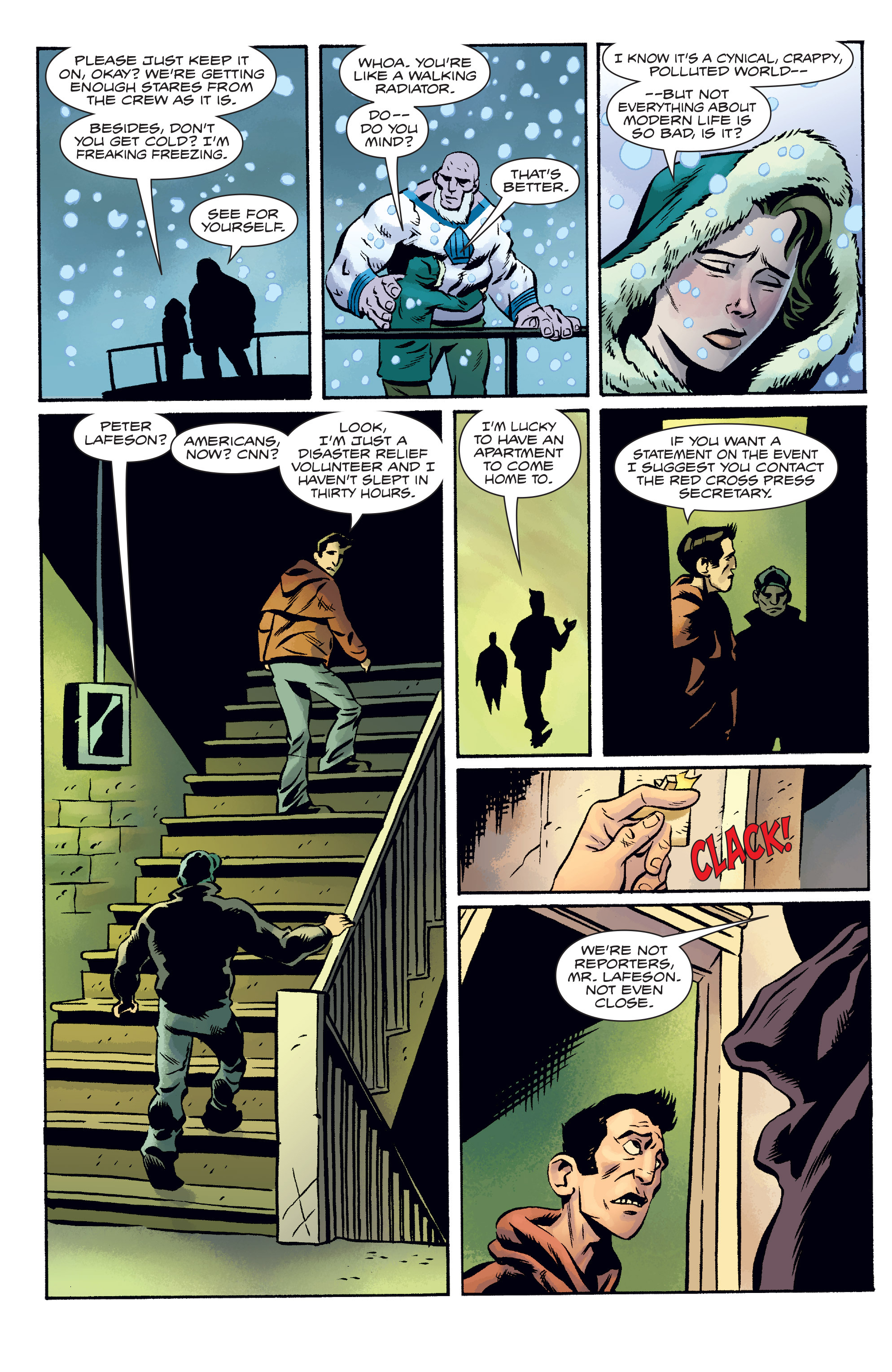 Read online The Anchor comic -  Issue # TPB 1 - 35