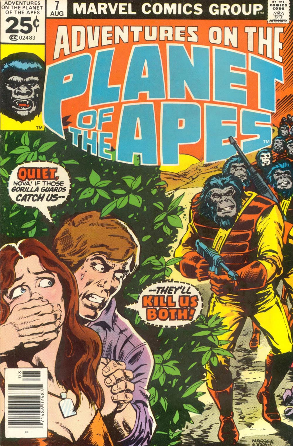 Adventures on the Planet of the Apes 7 Page 1