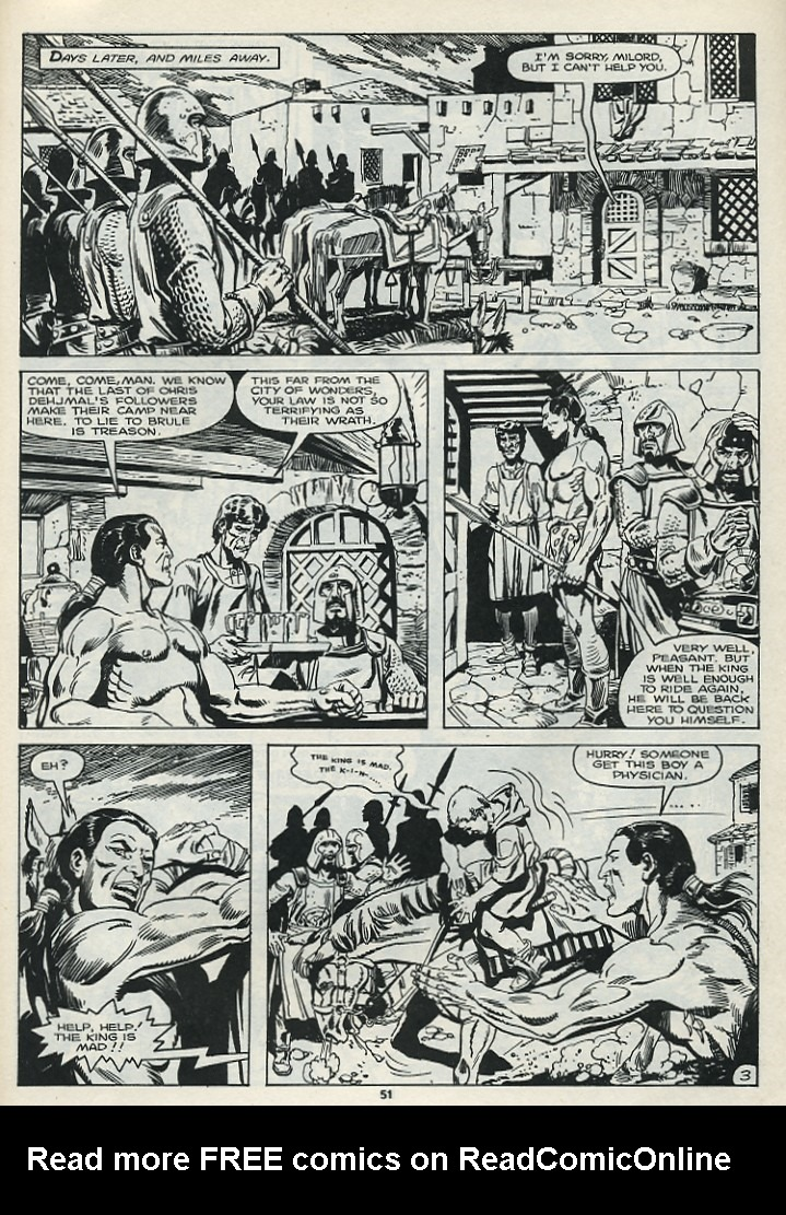 The Savage Sword Of Conan Issue #182 #183 - English 53