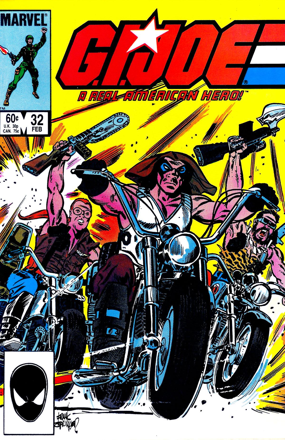 G.I. Joe: A Real American Hero 32 Page 1