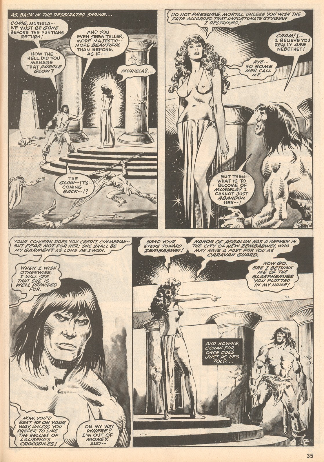 The Savage Sword Of Conan Issue #60 #61 - English 35