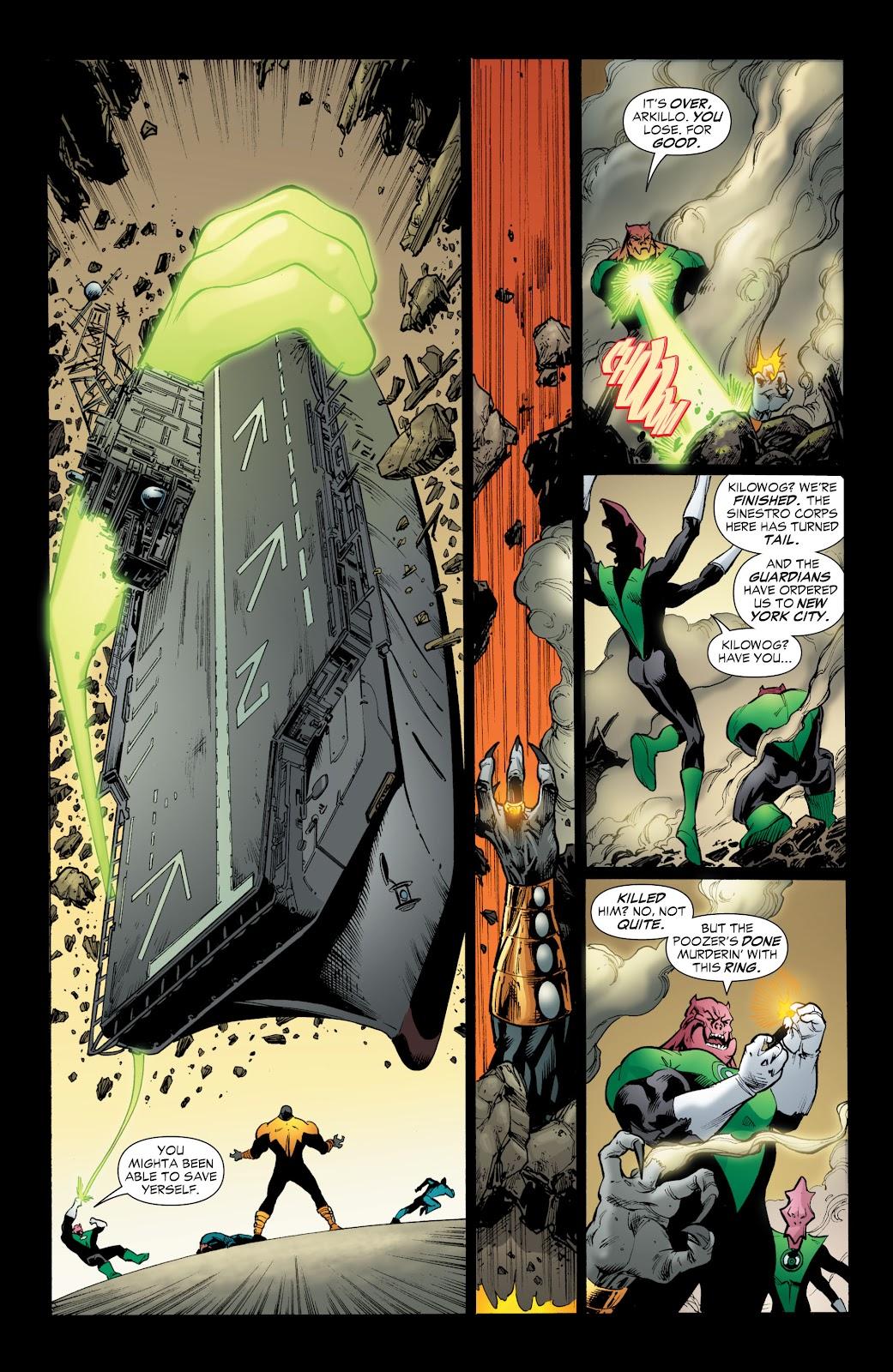 Green Lantern: The Sinestro Corps War Full #1 - English 212