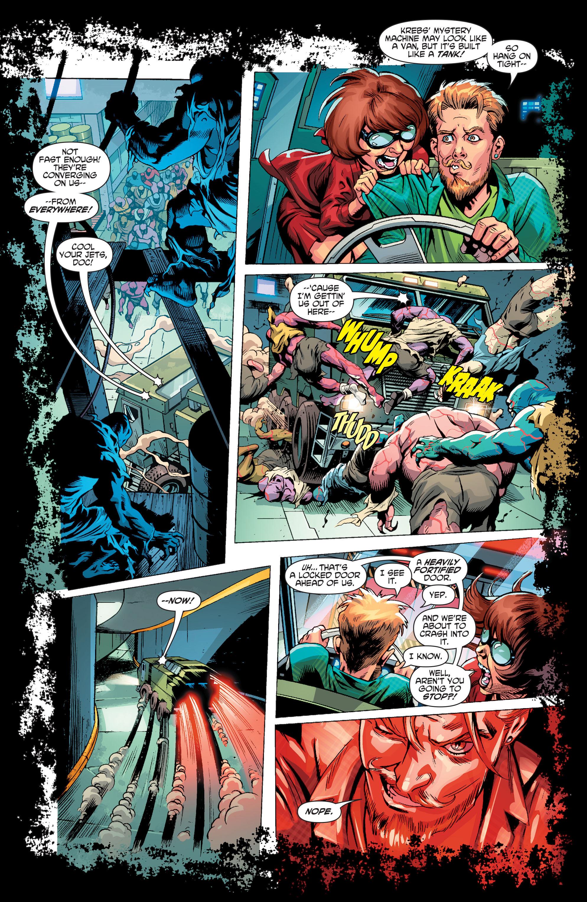 Read online Scooby Apocalypse comic -  Issue #3 - 18