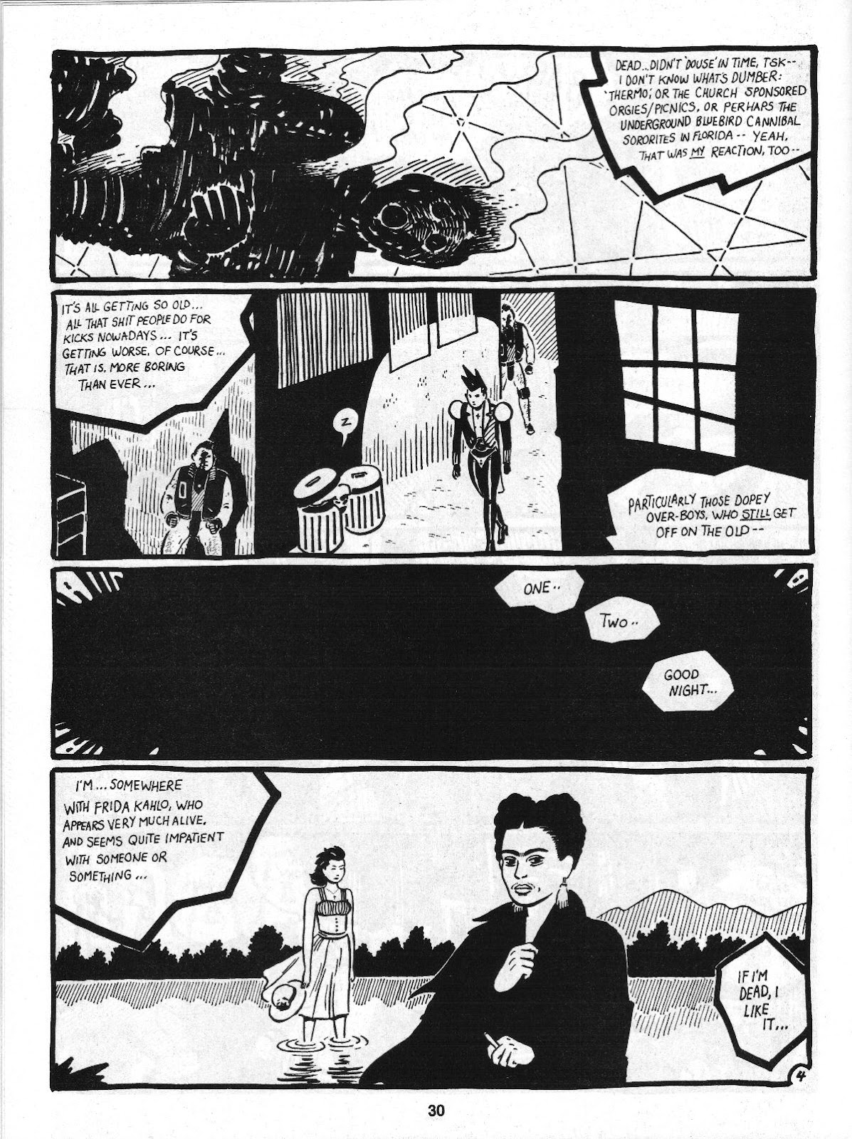 Love and Rockets (1982) Issue #4 #3 - English 32