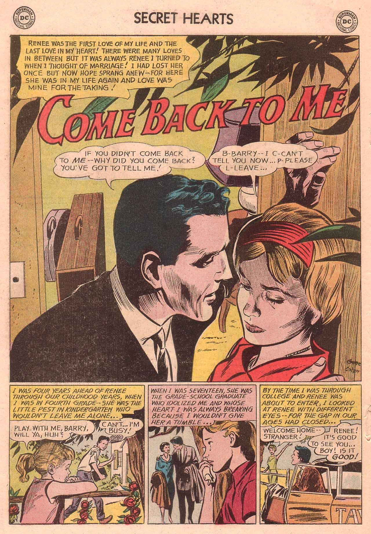 Read online Secret Hearts comic -  Issue #94 - 18