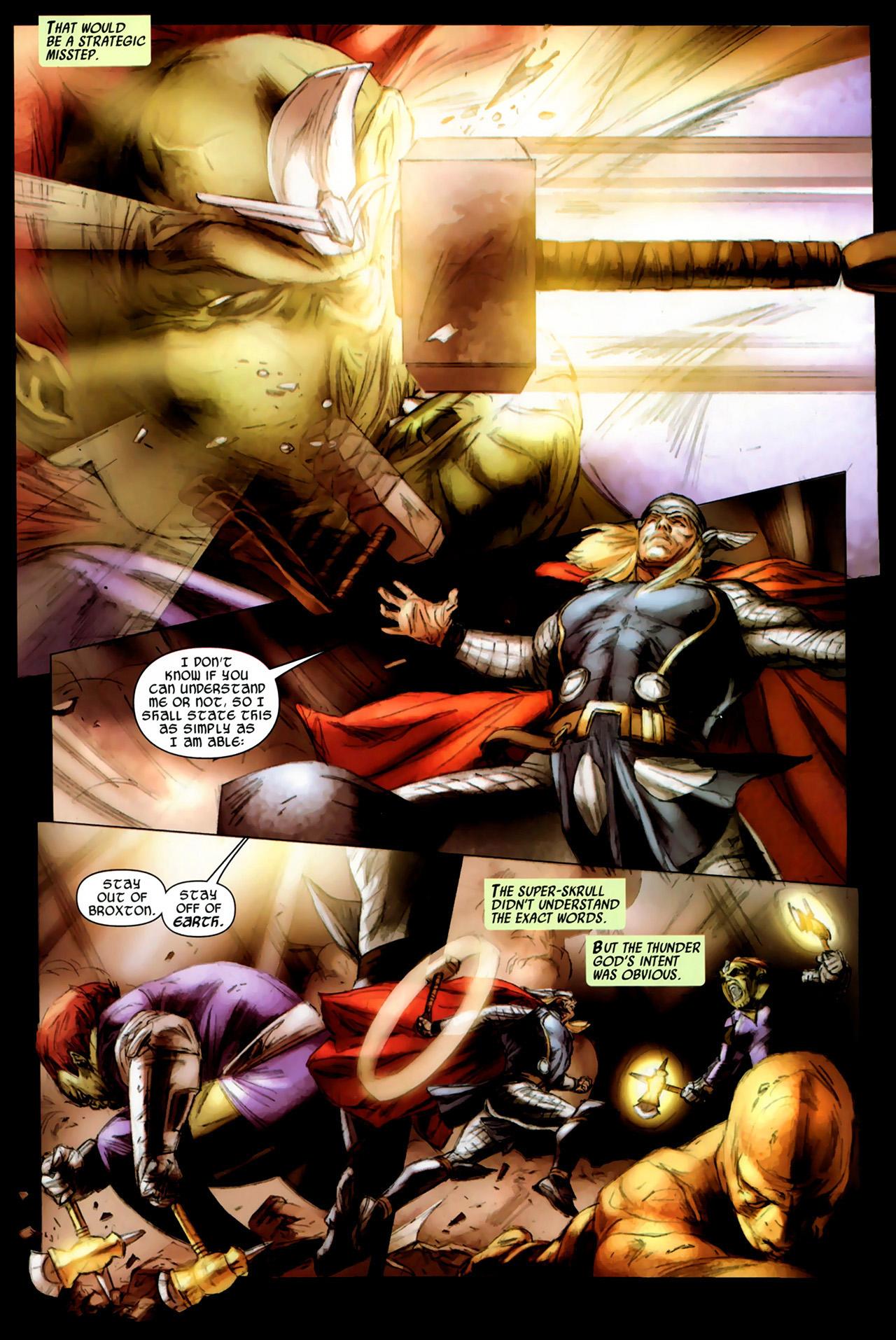 Read online Secret Invasion: Thor comic -  Issue #3 - 7