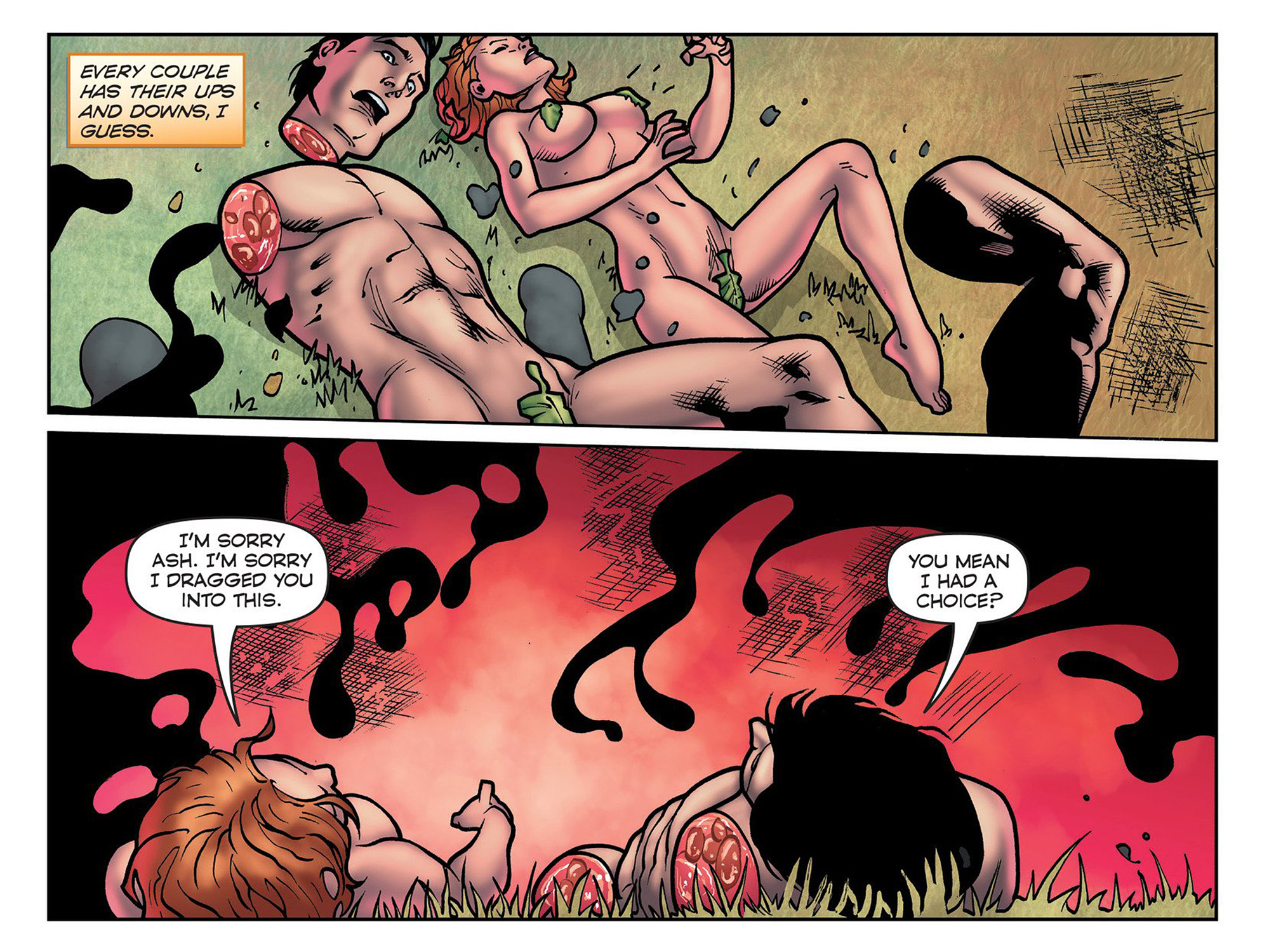 Read online Evil Dead 2: Cradle of the Damned comic -  Issue #3 - 21