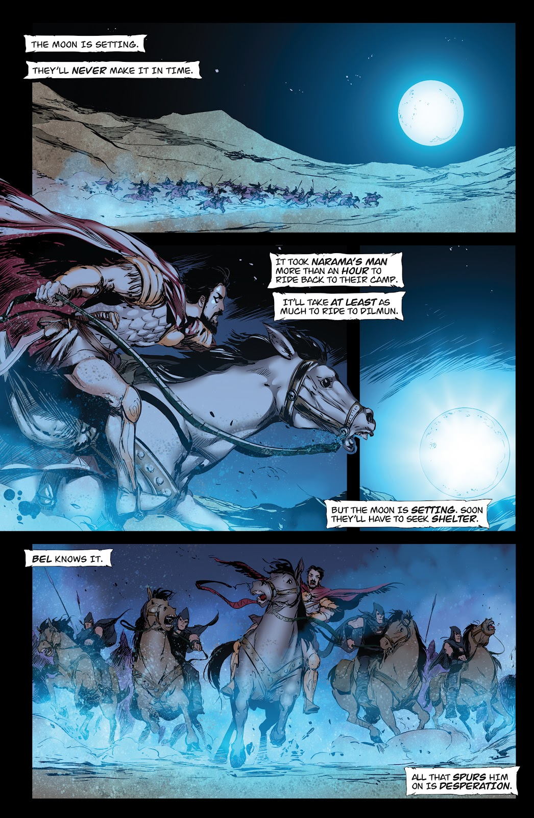 Queen of Vampires Issue #7 #7 - English 19