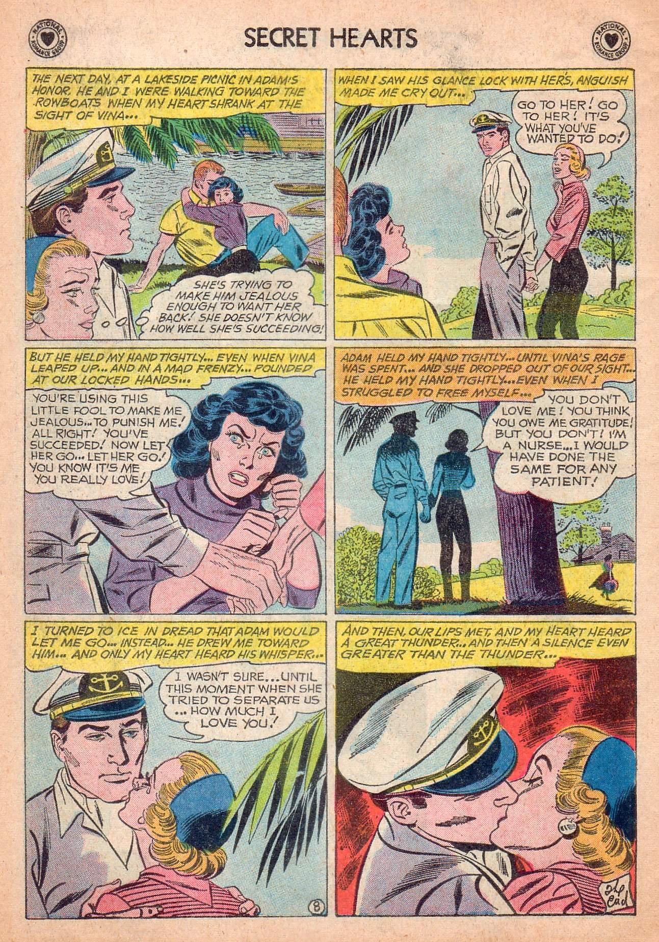 Read online Secret Hearts comic -  Issue #63 - 34