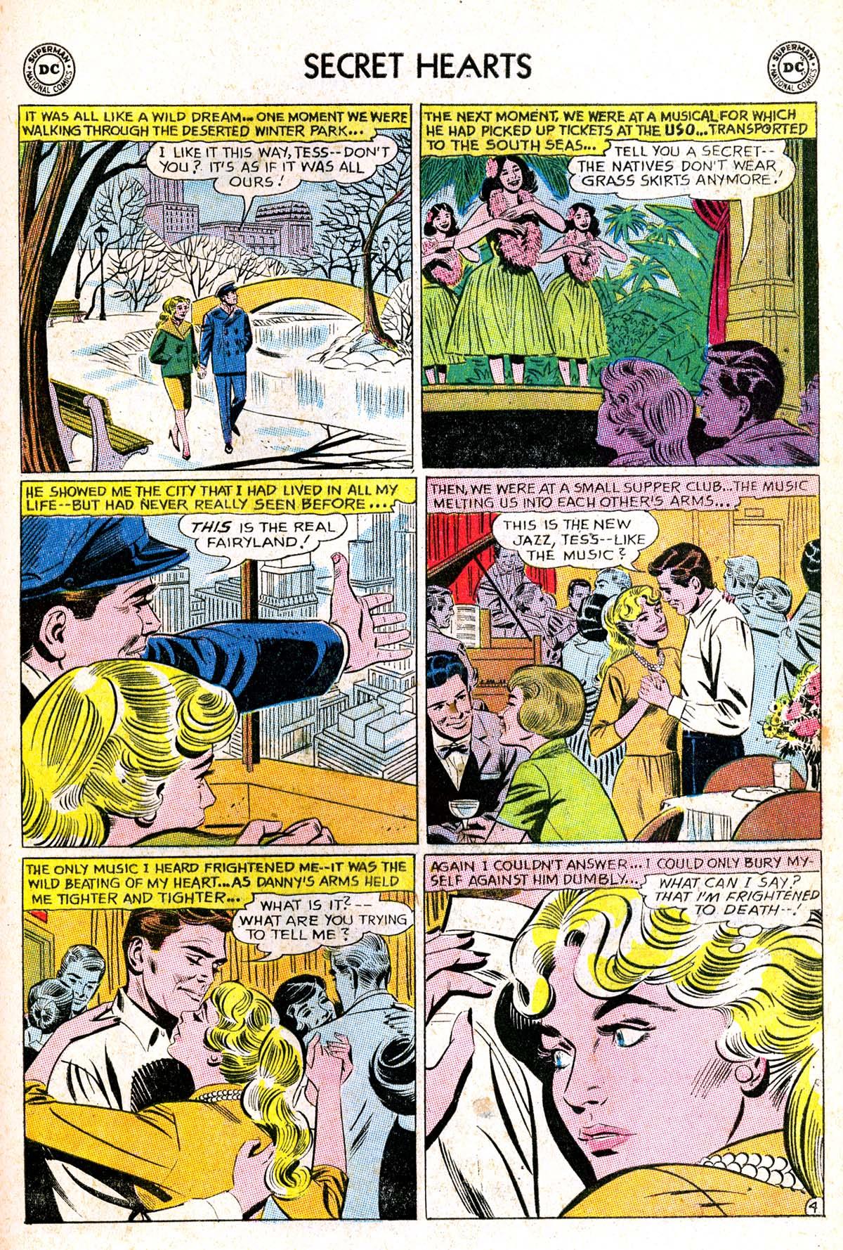 Read online Secret Hearts comic -  Issue #85 - 21