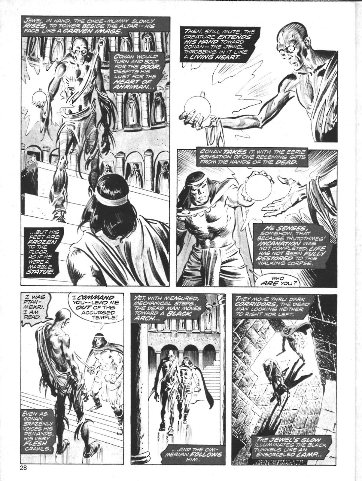 The Savage Sword Of Conan Issue #10 #11 - English 24