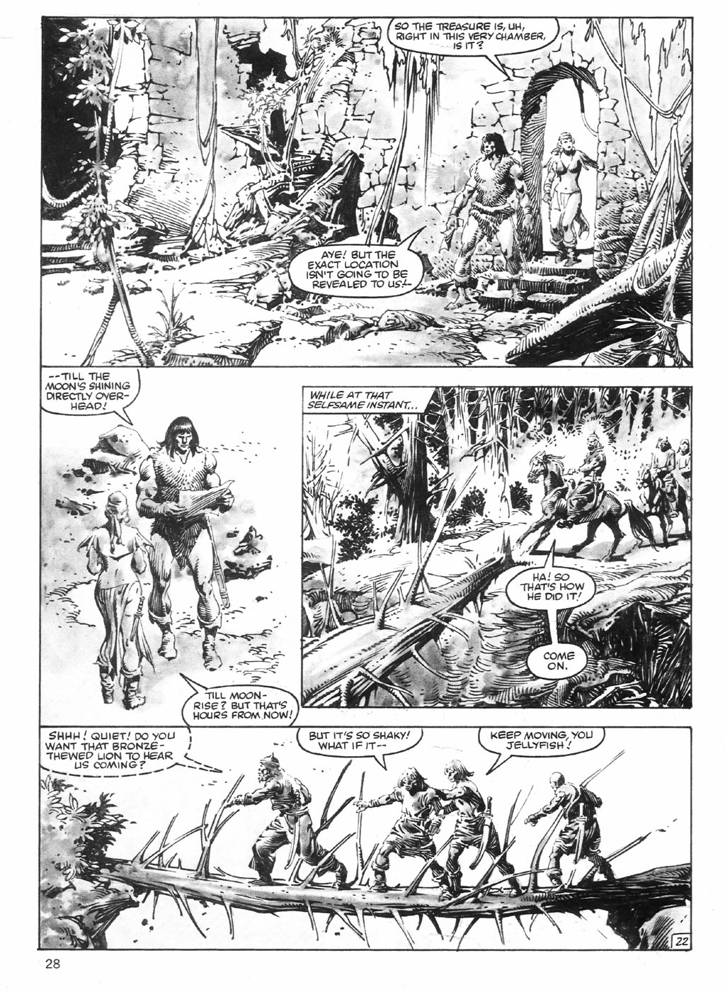 The Savage Sword Of Conan Issue #98 #99 - English 28