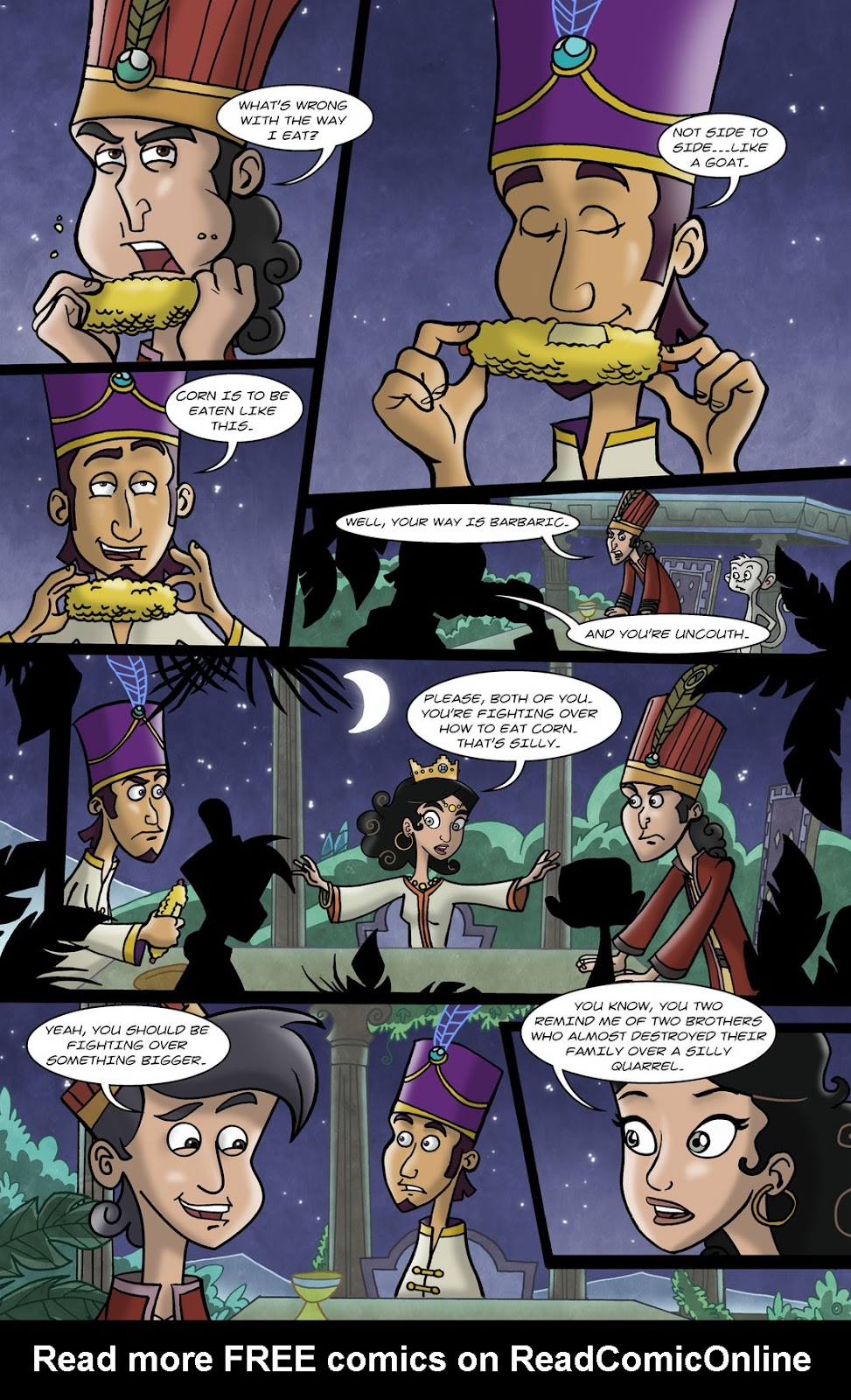 1001 Nights Issue #10 Page 6