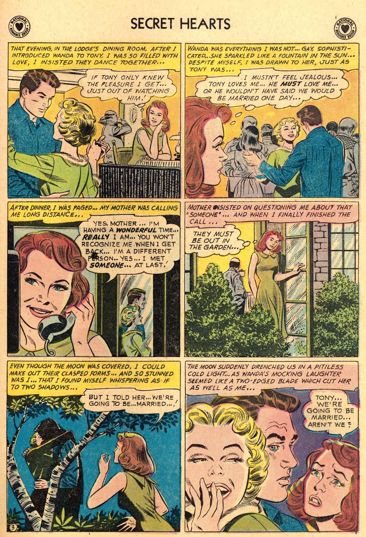 Read online Secret Hearts comic -  Issue #69 - 29