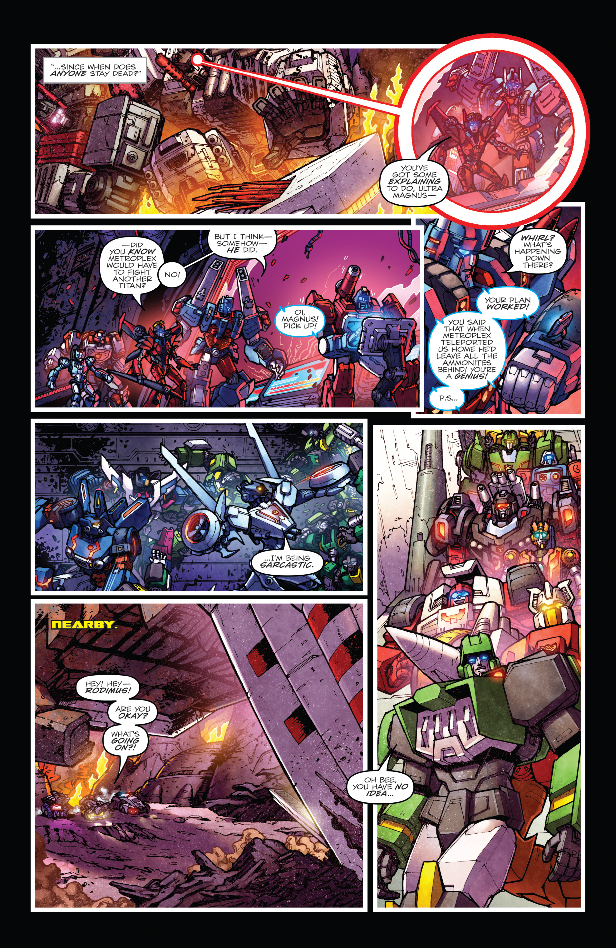 Read online The Transformers: Dark Cybertron Finale comic -  Issue # Full - 58