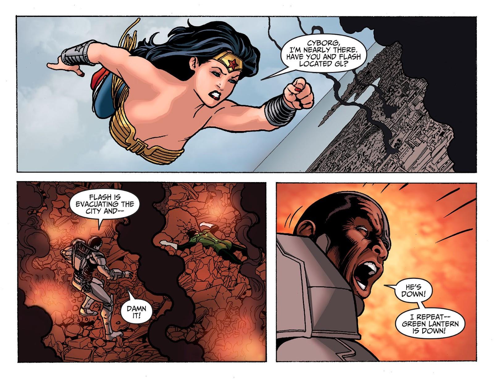 Injustice: Gods Among Us [I] Issue #19 #20 - English 6