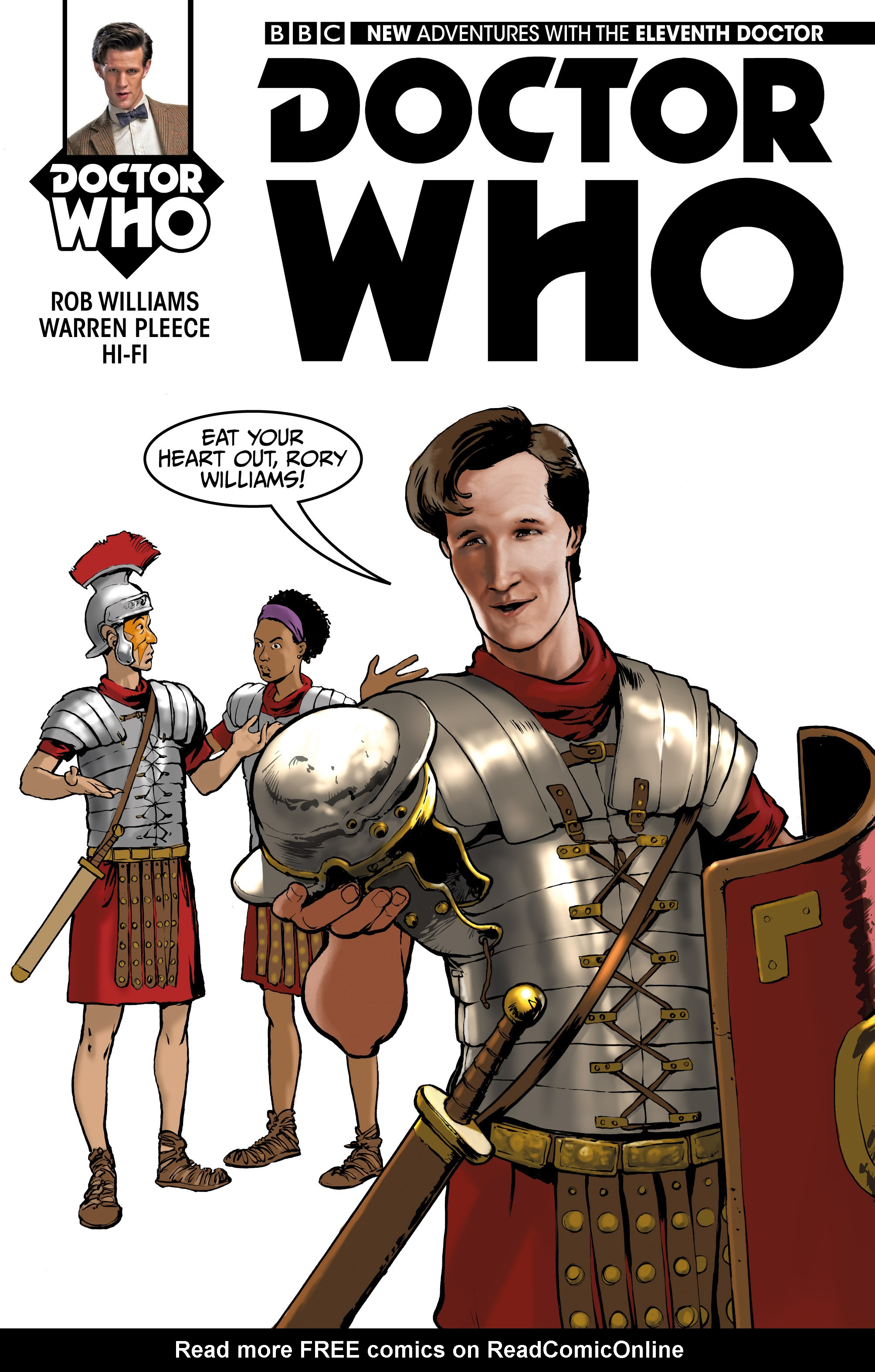 Doctor Who: The Eleventh Doctor 13 Page 1