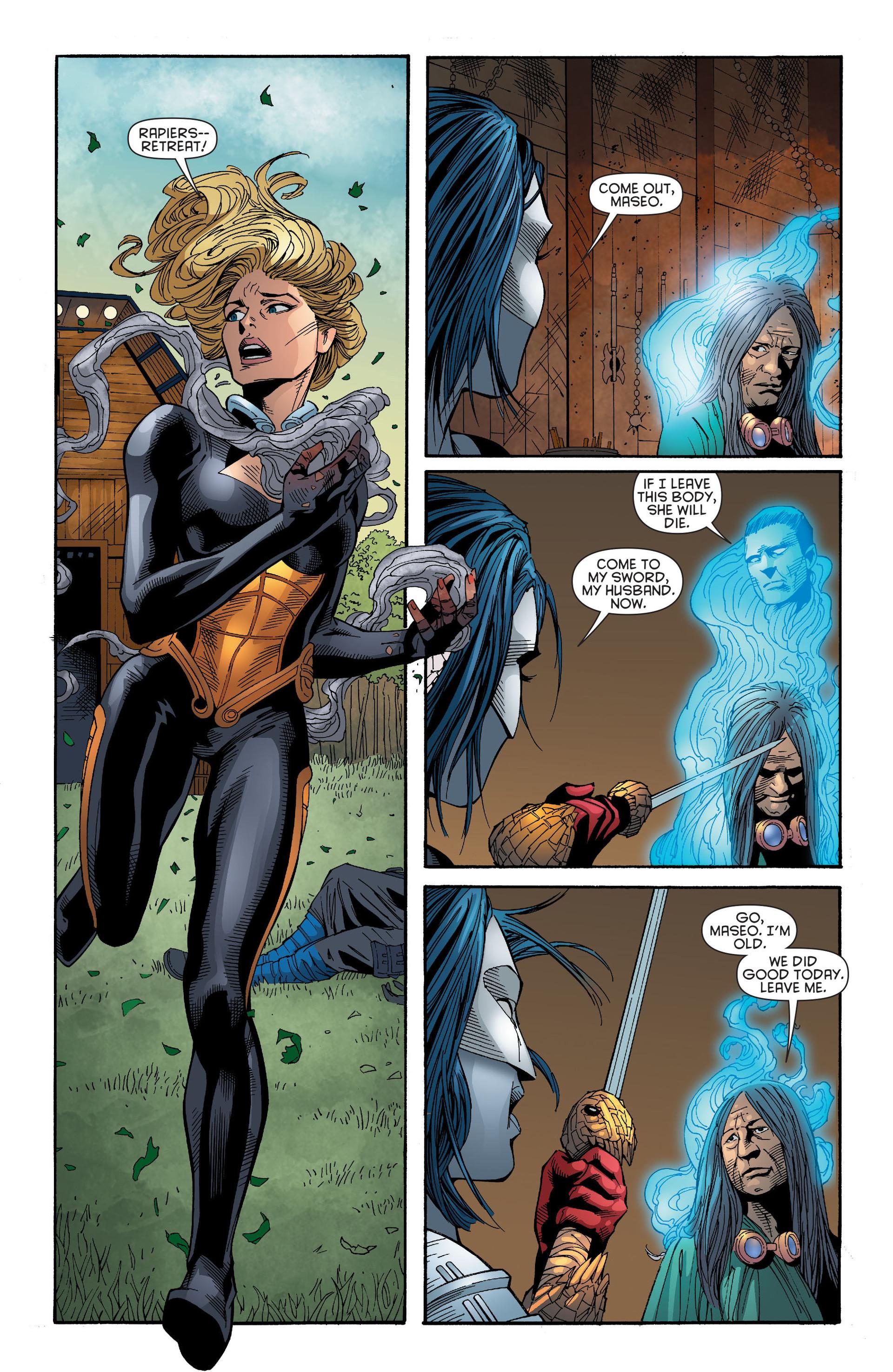 Read online Katana comic -  Issue #6 - 18