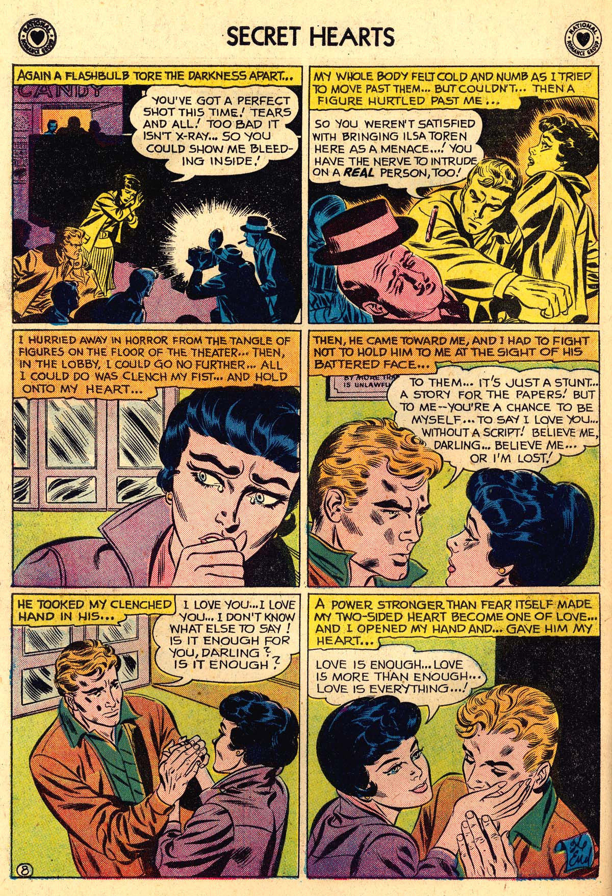 Read online Secret Hearts comic -  Issue #56 - 34